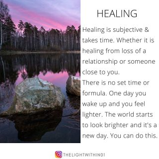 Please don't rush your healing process. If you need time to grieve, take all the time. If you need time to get over a relationship, take your time.   Even if you need time to adjust to a change in your life, take all the time you need. Don't do it according to someone else's time table.  There is no set formula. Just know, that you are not alone in this.  There will come a time when the burden will get ligher. That you will be able to smile again. The ray of hope will find it's way through...  ____________________________________________ Follow 👉@thelightwithin01 for Spiritual advice, Oracle predictions, Daily positivity, and Good vibes! 💫 ____________________________________________ . . . . . . . . .  #thelightwithin #devina #positivethinkingonly #positivityonly  #positiveaffirmations #positivemindset #messagesofhope #higherself  #positiveaffirmation  #selfempowerment #positiveintentions #dailymantra #messageoftheday #lawofattractiontips #lawofattraction #lawofvibration #powerofthemind #positiveselftalk #healingvibrations #newbegginnings #healingquotes #healingvibrations #healingisthenewhigh