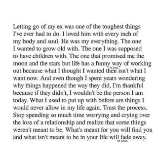 I was guided to share this with you. Also because I personally have experienced this, and also to let you know that you aren't alone in feeling this way.   Some relationships come into our life for a reason or season. To teach us something. And when their time is up, they leave us.  As painful as it is, if you accept this, it will be easier for you to move on.   What's meant for you will find you, and what isn't meant to be in your life will fade away..  Comment below if you've been through this too ❤️  (Pic Credit: @thisismsosa)