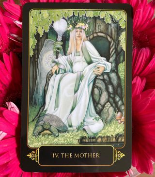 This card signifies patience, compassion, unconditional love, and forgiveness.  The Universe asks you to introspect and ask yourself if you need to work on any or all of the above.  Is there someone you need to forgive? Are you generally an impatient person? Are you not compassionate to what others are going through?  You maybe carrying some resentment from your childhood towards your mother. How she raised you or if she imprinted some of her fears and insecurities on you.  It is important for us to cut any negative cords attaching us to our mother so we can be free to live our life without carrying the baggage of our parents and ancestors.  Your relationship with your mother also influences how you respond to others in your environment.   Did you lack love and and attention from your parents? Did you have nurturing parents?  All these factors play an important role in moulding who you are today.   Comment below if this resonates with you ❤️  TAG a friend who needs to read this  (Deck: Dreams of Gaia)