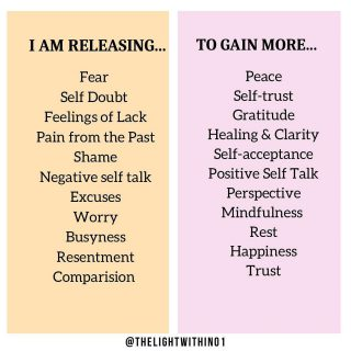 Double Tap if you resonate with this! ❤️  It's important to replace our negative emotions with positive ones. When we start making a conscious effort of doing that on a regular basis, we are able to manage our emotions better.  Here are some opposites that I've shared. We strive to always go for the ones in pink ☺️  Comment below if you found this useful!  TAG a friend/ family member who needs to read this!  (Info: Alex Elle)