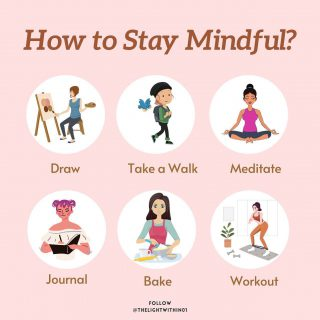 Here are some tips on How to keep your mind sane & calm with everything that's going around.  Being mindful is a form of #Meditation in itself.  I realised during my time of Covid recovery I have had to do a few of these myself to keep my mind calm and stress free.  Comment below and let me know which is your favourite one! 👇