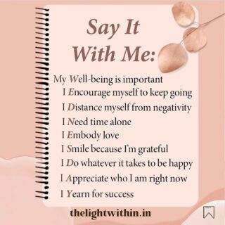 Whenever you feel down and out,  you can repeat these statements to yourself. You will feel immediately uplifted 🤗  Here is some mid week motivation for you. Drop a ❤️ to Affirm with me.  . . . . . . #thelightwithin #devina #wednesdaywisdom #wednesdaythoughts #motivationdaily #motivationalposts #positiveaffirmationsdaily #affirmationpositive #affirmationsoftheday #affirmationsdaily #selflovefirst #selflovequote #createyourlight #dailymotivationalquotes