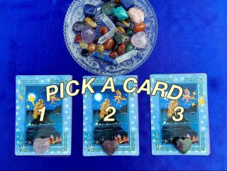 PICK A CARD READING by @thelightwithin01 🔮✨  𝑾𝒉𝒊𝒄𝒉 𝑪𝒓𝒚𝒔𝒕𝒂𝒍 𝒂𝒓𝒆 𝒚𝒐𝒖 𝒎𝒐𝒔𝒕 𝒅𝒓𝒂𝒘𝒏 𝒕𝒐? 💎   💫Take a moment to focus on the cards & the crystals. Which one do you feel connected to?💫  1 , 2 , or 3? 🌟  It's ok if you pick more than 1.  💜 COMMENT below with your answer. The meaning of the cards will be revealed here tomorrow at 12pm IST!  ✨Follow & turn on notifications for @thelightwithin01 so you don't miss any posts!  ❣️ TAG a friend who may enjoy this #tarotreading!   💟 You can save this post for a quick reference back to it.